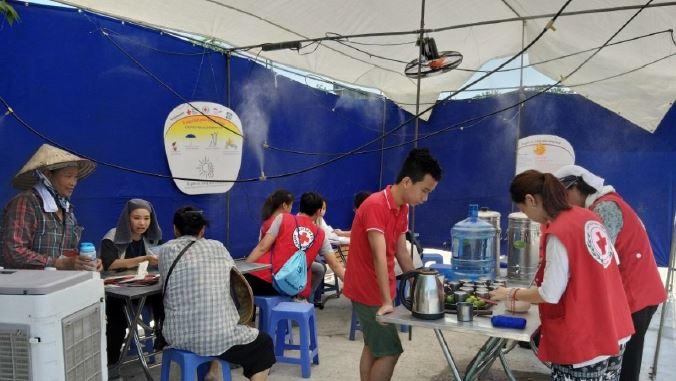 Hanoi Cooling Centre Heat Wave EAP Simulation 2019